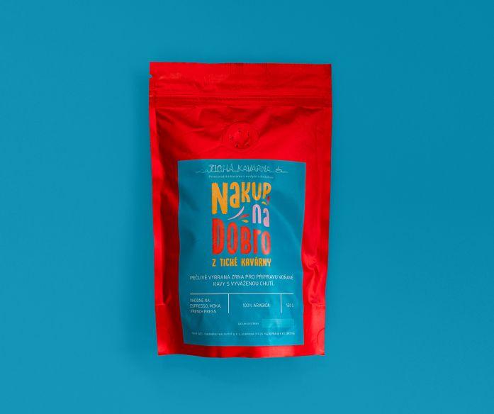 Káva Nakup na Dobro z Tiché kavárny