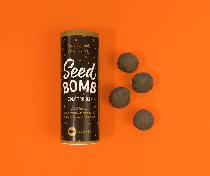 Seedbomby jedlý truhlík – 4 ks kuliček