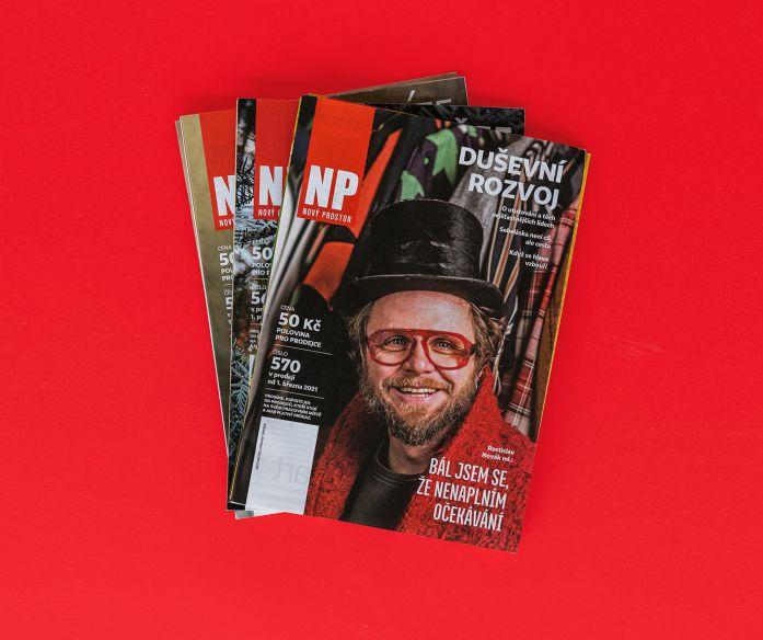 Časopis Nový Prostor - předplatné