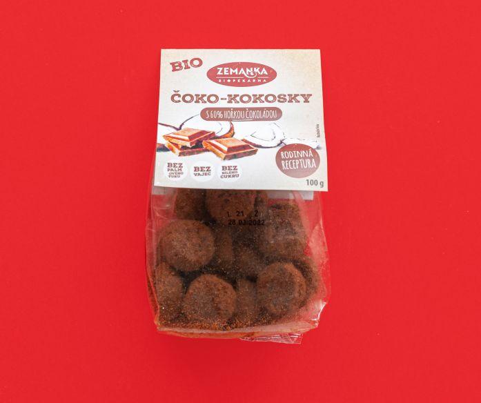 Bio čoko-kokosky s fair trade čokoládou