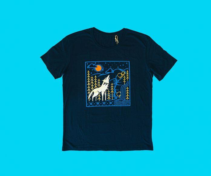 Pánské tričko Wolfie s krátkým rukávem