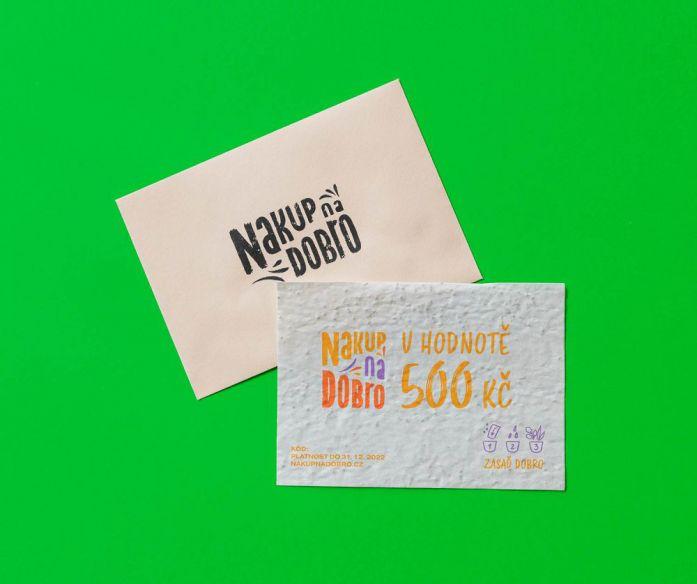 Voucher Nakup na Dobro - 500 Kč