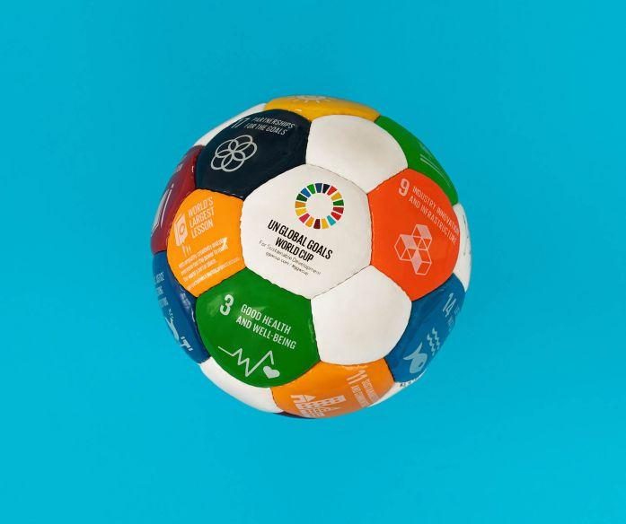 SDGs fotbalový míč