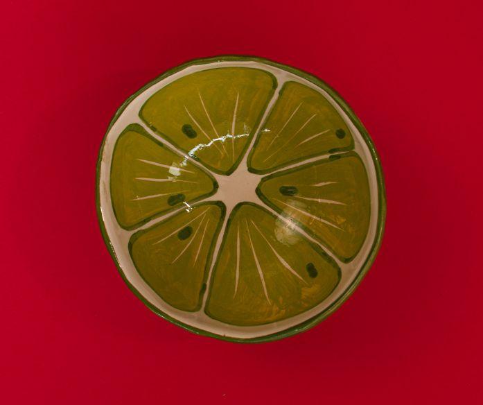 Keramická miska ovoce - limetka