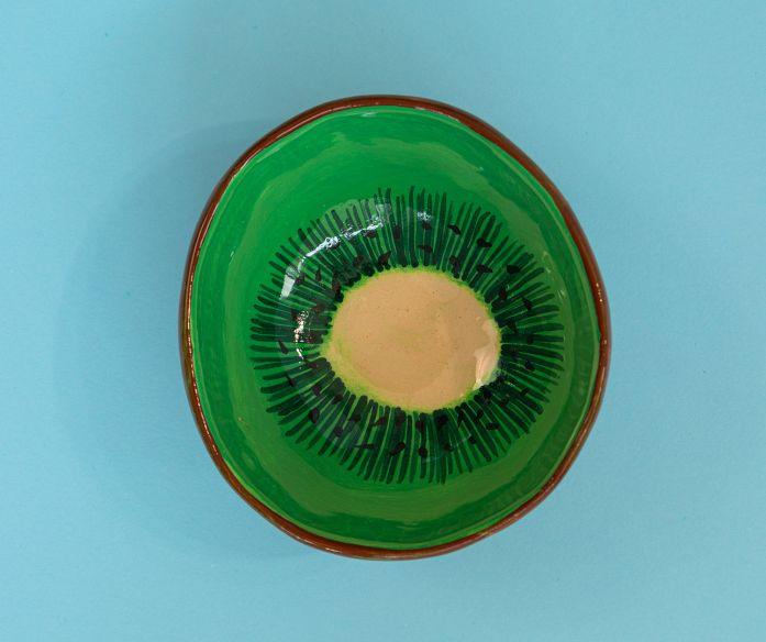 Keramická miska ovoce - kiwi