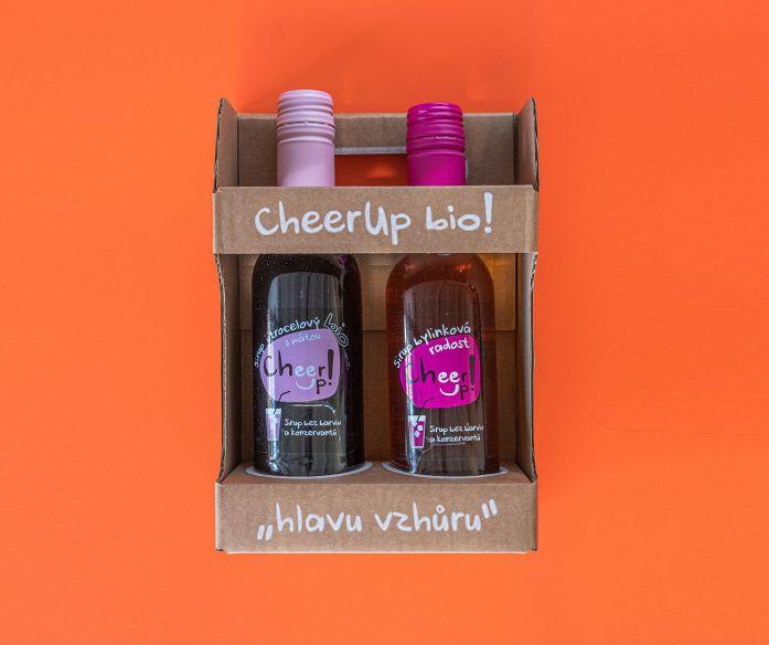 Dárkové balení sirupů CheerUp BIO