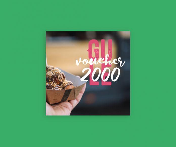 Voucher GULE 2 000 Kč