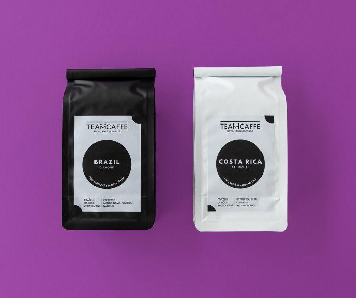 Dárkové balení výběrové kávy Brazil Diamond/Costa Rica Palmichal
