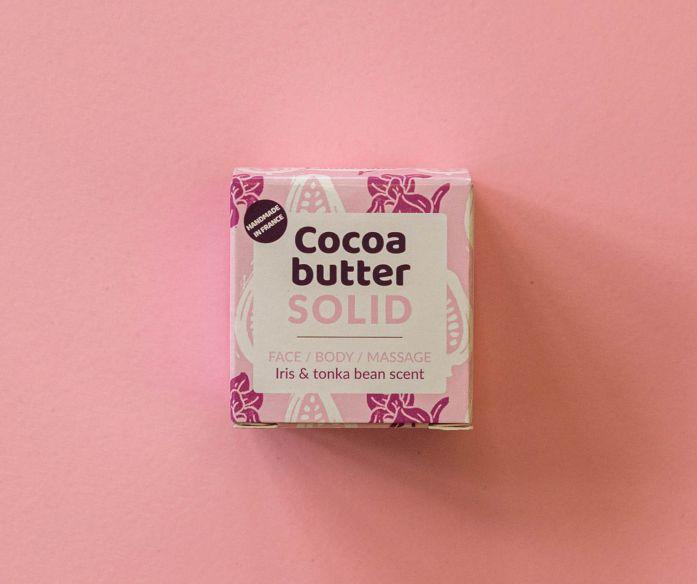 Lamazuna Tuhé kakaové máslo růžové BIO