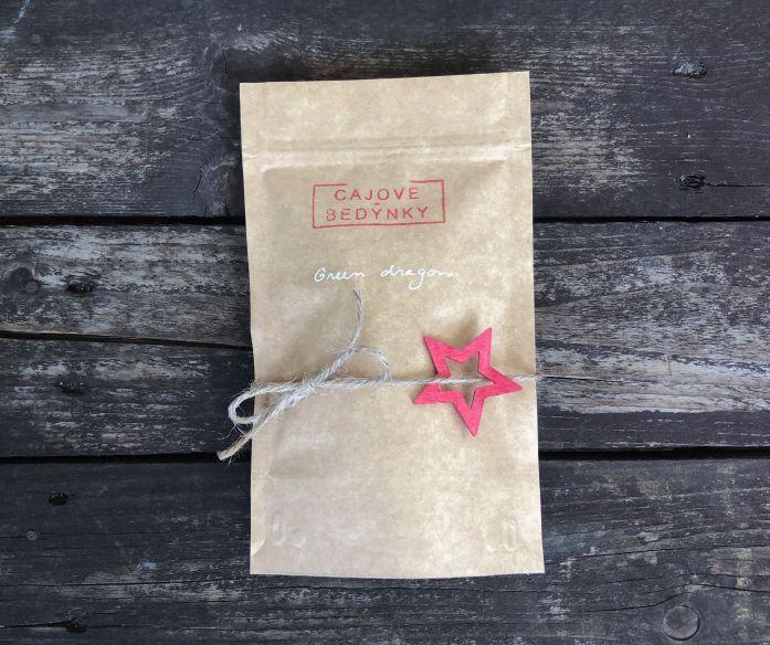 Dárkový balíček 2 sypaných zelených čajů