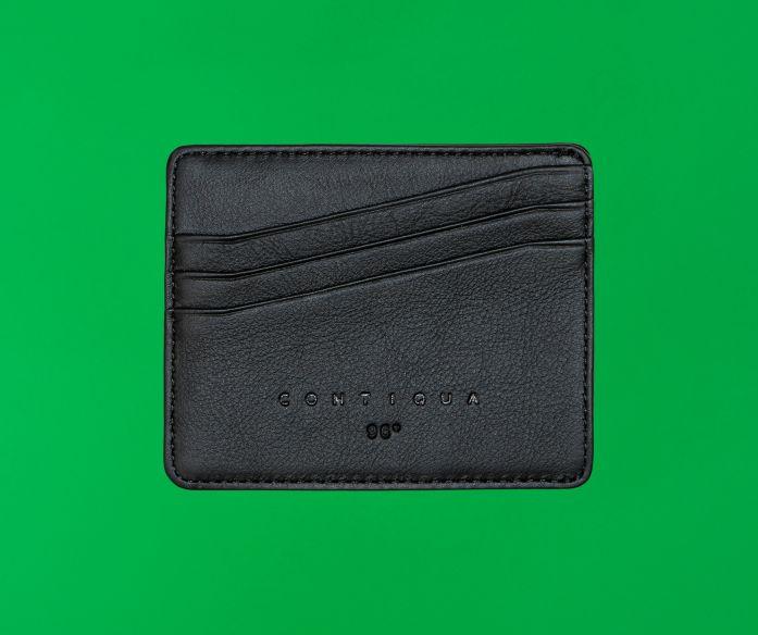 Micro peněženka Contiqua černo-béžová