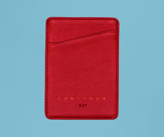 Nano peněženka Contiqua červeno-modrá
