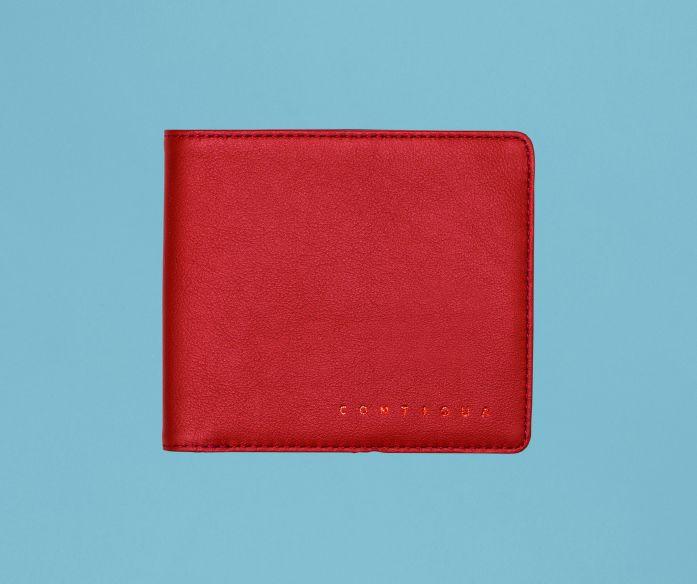 Classic peněženka Contiqua červeno-modrá