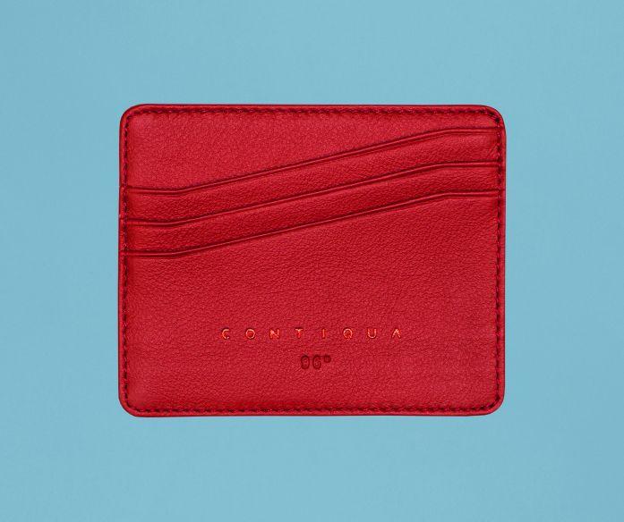Micro peněženka Contiqua červeno-modrá