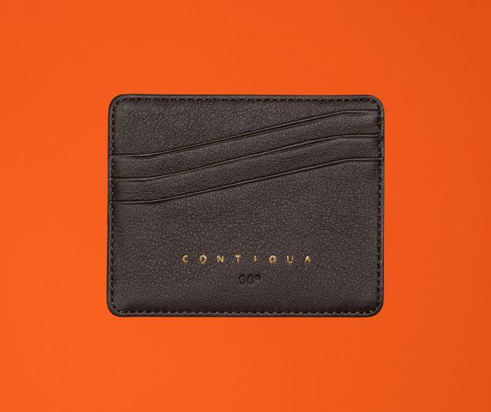 Micro peněženka Contiqua hnědá