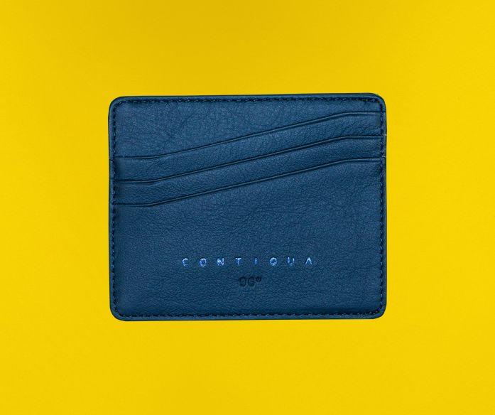 Micro peněženka Contiqua modrá