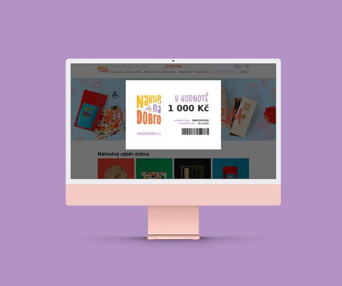 Voucher Nakup na Dobro - 1000 Kč
